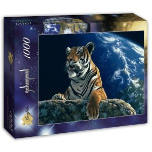 Puzzle Grafika Tigre de Schim Schimmel 1000 piezas
