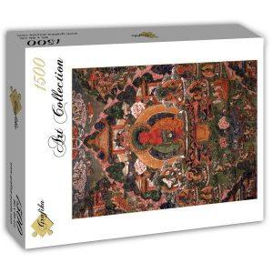 Puzzle Grafika Buda Amitabha Suvakti de 1500 piezas