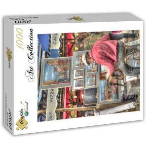 Puzzle Artista callejero, París, Francia - Puzzles Grafika