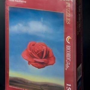 Puzzle Ricordi Rosa Meditativa de Dali 1000 piezas. Aquí podrás comprar puzzles de forma segura, rápida y fácil, con envíos en 24-48 horas.