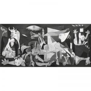 Puzzle Guernica de Picasso 1000 piezas de la marca italiana Puzzle Ricordi Arte. El arte está a tu alcance con Puzles Ricordi.