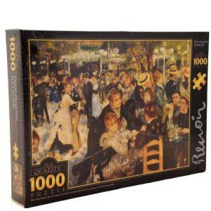 Comprar Puzzle DToys El Molino de bola Galette de Renoir 1000 piezas. Puzzles Magin tienda de puzzles online envios 24-48 horas.