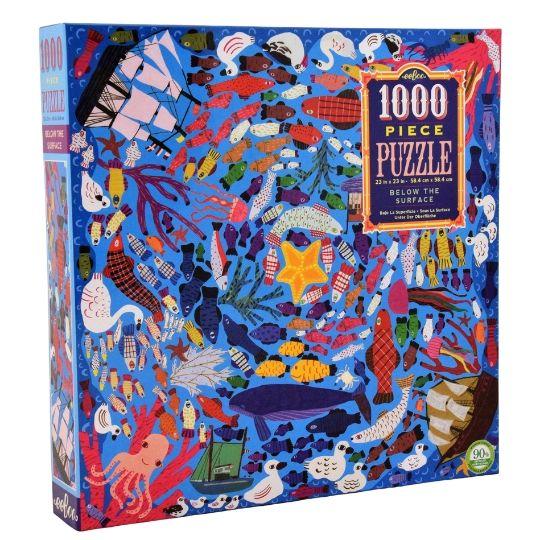Puzzle eeBoo Fondo del mar de 1000 piezas