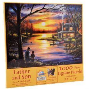 Puzzle SunsOut Padre e hijo de 1000 piezas