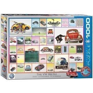 Puzzle Eurographics Volkswagen Beetle 1000 piezas 6000-0800