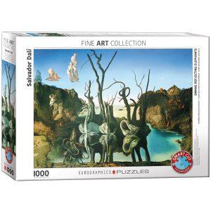 Comprar Puzzle Dalí Cisnes reflejando Elefantes | Puzzles Magin