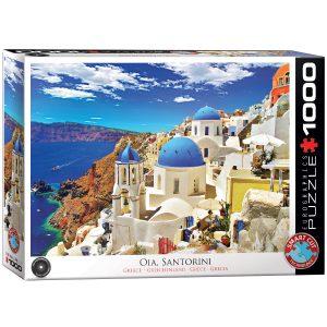 Comprar Puzzle Eurographics Santorini Grecia 1000 piezas 6000-0944