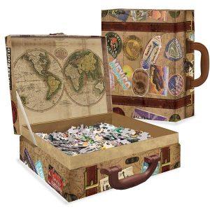 Comprar Puzzle Master Pieces Puzzle en maleta Europa de 1000 piezas