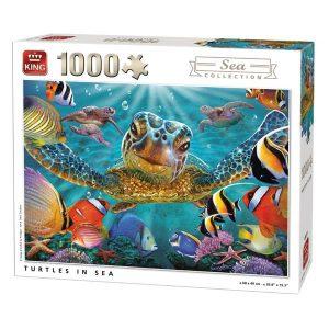Puzzle king tortuga marina 1000 piezas