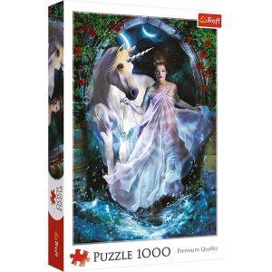 Puzzle Trefl Madre de Unicornio 1000 piezas