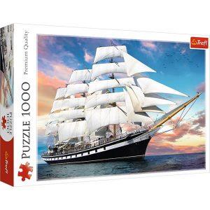 Puzzle Trefl Barco de 1000 piezas