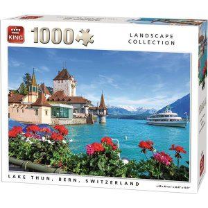 puzzle king international lago berna 1000 piezas