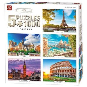 puzzle king international pack puzzles 5