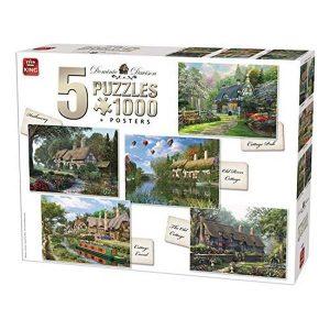 pack 5 puzzles dominic davison