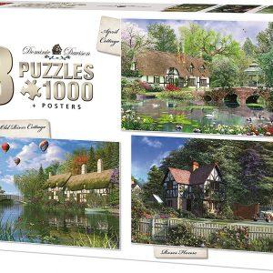 Puzzle King Pack 3 puzzles Dominic Davison