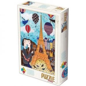 Puzzle DToys Paris de Andrea Kurti de 1000 piezas