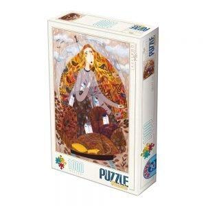 Puzzle DToys Andrea Kürti Otoño de 1000 piezas