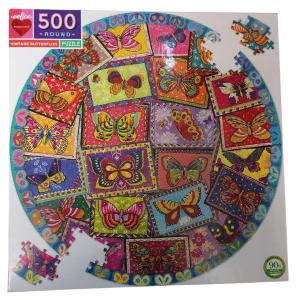 Puzzle eeBoo Mariposas 500 piezas OUTLET
