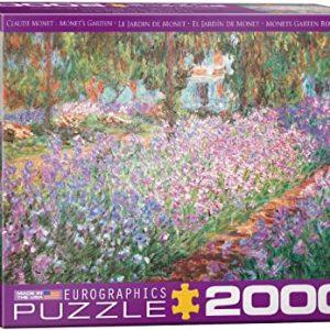 8220-4908 Puzzle Eurographics El jardín de Monet de Claude Monet de 2000 piezas