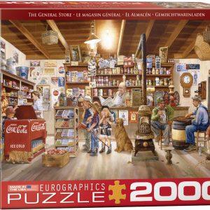 8220-5481 Puzzle Eurographics La Tienda de 2000 piezas