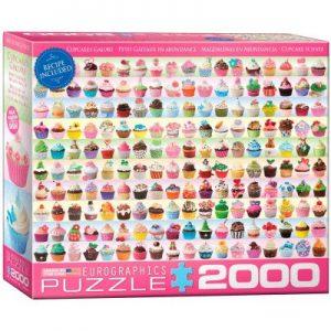 8220-0629 Puzzle Eurographics Cupcakes de 2000 piezas