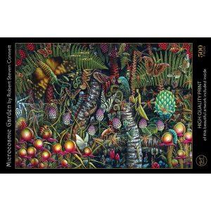Puzzle Art & Fab Microcosmic Garden de 500 piezas