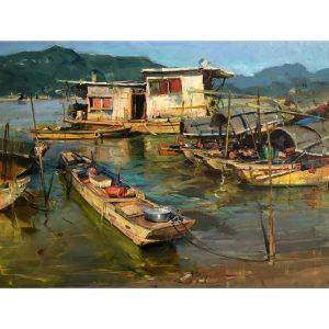 Puzzle Art & Fab Pearl River de 500 piezas