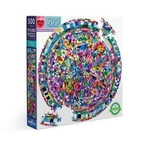 Puzzle redondo eeBoo Triangulos de 500 piezas PZFTRP