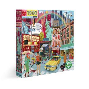 Puzzle eeBoo Nueva York de 1000 piezas PZTNYL