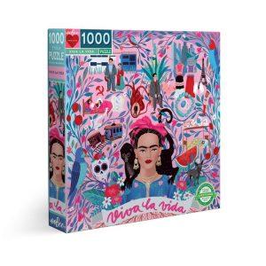Puzzle eeBoo Frida Kahlo VIVA LA VIDA PZTVLV