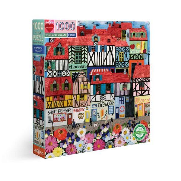 Puzzle eeBoo La ciudad de 1000 piezas PZTWSV