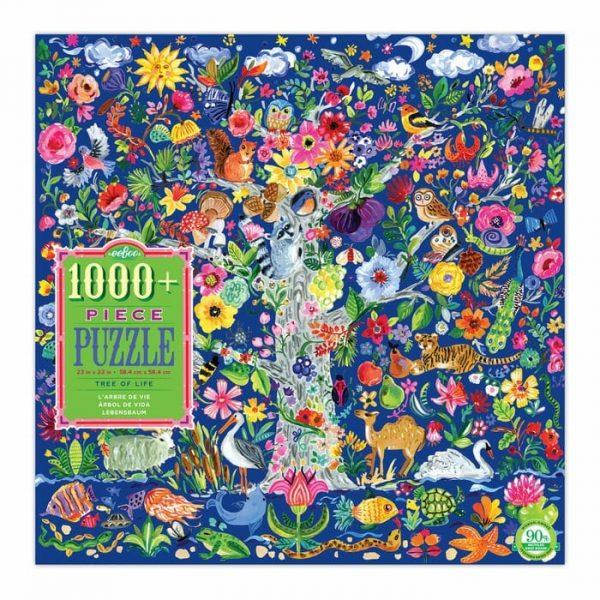 Puzzle eeBoo Árbol de la vida de 1000 piezas PZTTOL