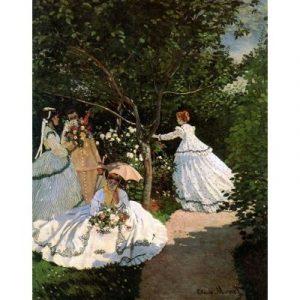 Puzzle Ricordi Mujeres en el Jardín de Monet de 1500 piezas