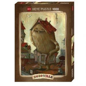 Puzzle Heye El barrio ZozoVille de 1000 piezas