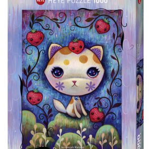 Puzzle Heye Gatitos y fresas Dreaming