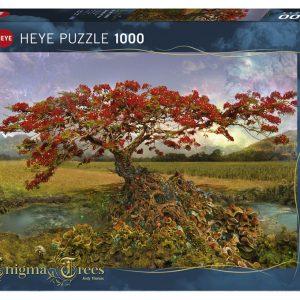 Puzzle Heye Árbol de la vida Mágico de 1000 piezas