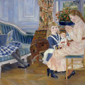 Puzzle Ricordi Tarde de niños en Wargemont de Renoir de 2000 piezas