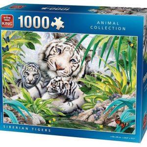 Puzzle King Tigre Siberia