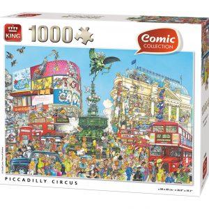 Puzzle King Picadilly Circus Londres de 1000 piezas