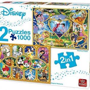 Puzzle King Pack 2 puzzles Disney de 1000 piezas