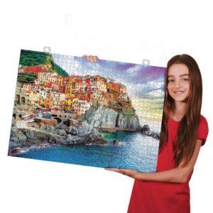 Hojas adhesivas para pegar puzzles