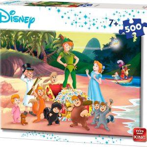 Puzzle King Disney Peter Pan de 500 piezas