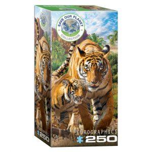 Puzzle niños Eurographics Tigres de 250 piezas