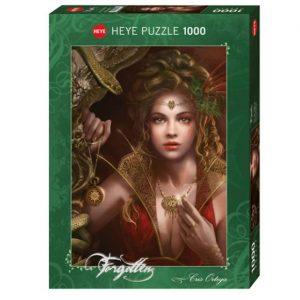 Puzzle Heye Cris Ortega Gold Jewellery de 1000 piezas