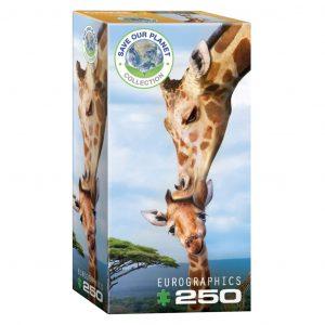 Puzzle niños Eurographics Jirafas de 250 piezas