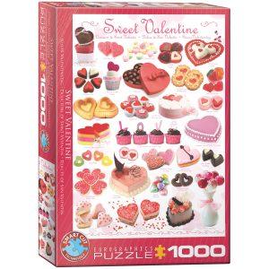 Puzzle Eurographics San Valentín dulce de 1000 piezas