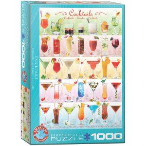 Puzzle Eurographics Coctel de 1000 piezas