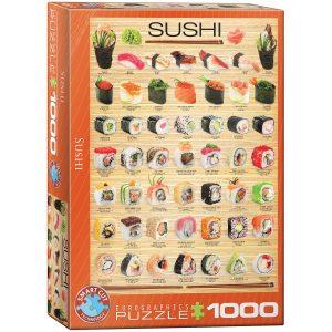 Puzzle Eurographics Sushi de 1000 piezas