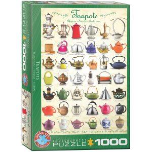 Puzzle Eurographics Teteras de 1000 piezas