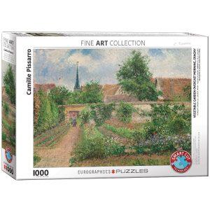 Puzzle Eurographics Vegetable Garden Overcast de 1000 piezas